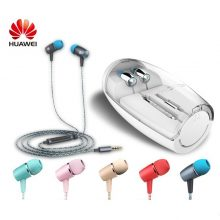 Honor Engine earphones Huawei AM12 Plus with mic Three Keys Drive-By-Wire